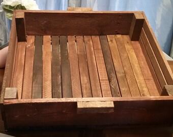 Display Crate, wooden crate, retail display, vintage looking crate