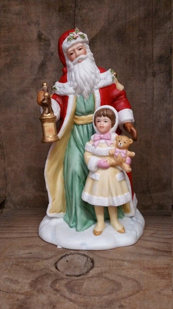 Items similar to santa avon porcelain figurine collectible