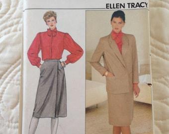 Butterick 4776 UNCUT Ellen Tracy Women's Suit Size 12-14-16