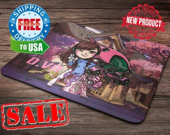 HOT D.VA Overwatch Mouse Pad overwatch mousepad home decor overwatch accessories overwatch champion