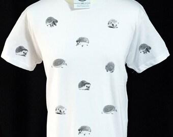Hedgehog Pattern T-shirt