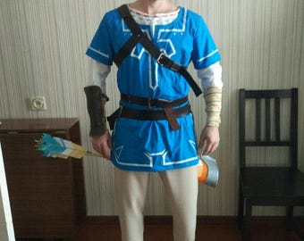 The Legend of Zelda: Breath of the Wild Link cosplay