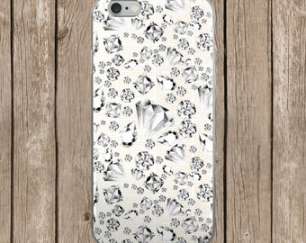 iPhone 5/5s/SE   iPhone 6/6s   iPhone 6 Plus/6s Plus   New Years Diamonds Design iPhone Case