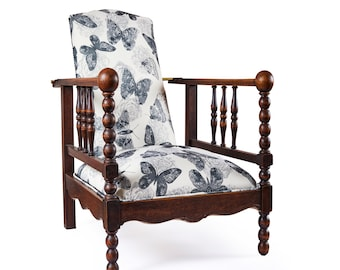 Upcycled Reclainer Chair