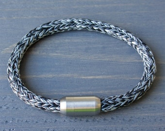 Rope Bracelet | Mens Bracelet Black Grey | Sailing Rope