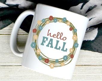 Happy Fall Coffee Mug - Fall Mug