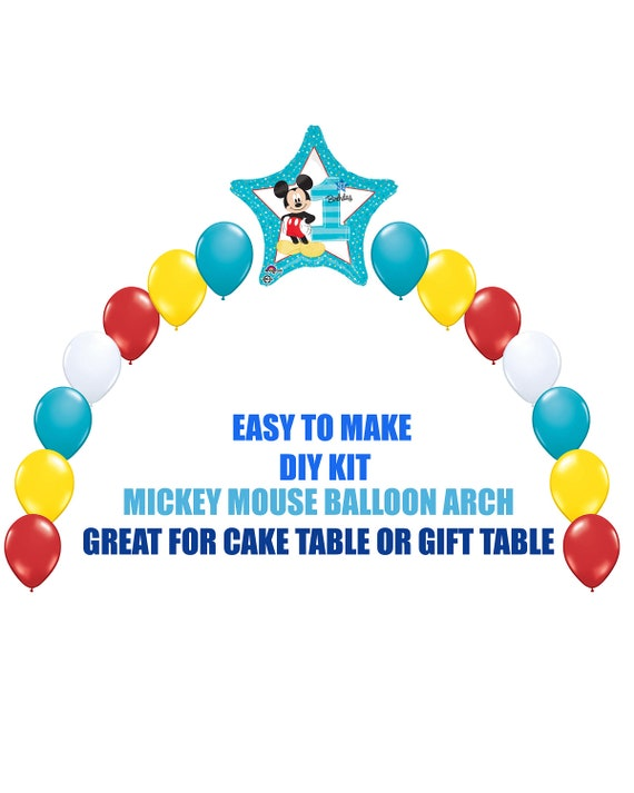 NEW Mickey Mouse 1st Birthday Balloons Mickey Party