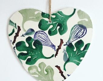 Emma Brigewater Heart Wall Hanging