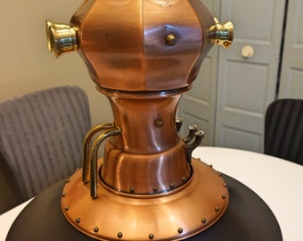 Vintage industrial Lamp Machine Age Steampunk