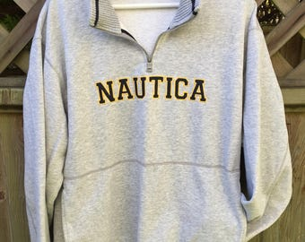 Nautica quater zip sweater