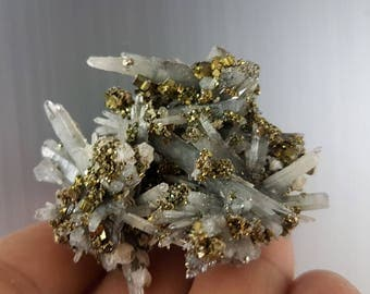 Quartz with  Pyrite from Madan Borieva mine