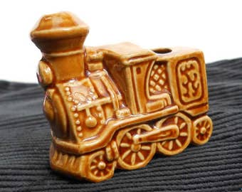Vintage Toothpick Holder Train