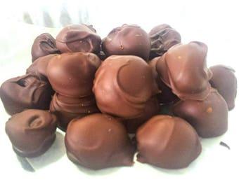Milk Chocolate Covered Macadamia Nuts - Half Pound (1/2 Pound)