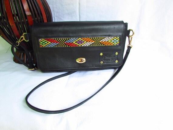 Black Leather clutch, Black evening clutch, leather clutch, clutch with strap, evenning bag, black evening bag, leather evening bag, ethiopi