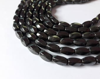 non magnetic Hematite - grey-black - A108 48 beads
