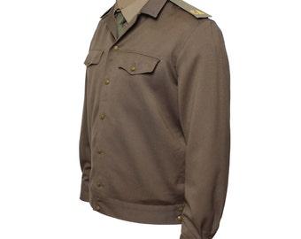Vintage Russian Soviet Officer Army USSR Military Uniform Jacket CA