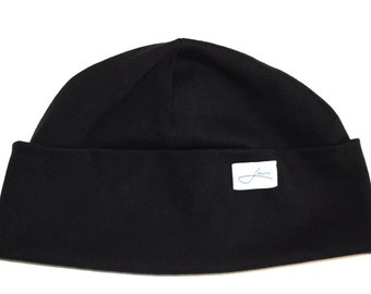 Beanie. Winter hat. Fisherman hat. Cotton. Made in Germany. Handcrafted. By humans. With love. Eco. Fairtrade. Lou-i