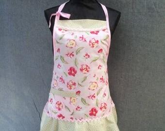 Apron Mothers day gift Hostess apron Handmade Retro swing apron