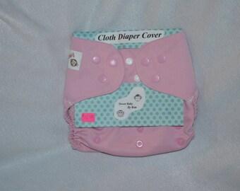 Pink Cloth Diaper Cover