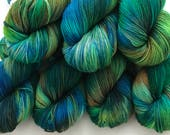 Kingfisher - Superwash Blue Faced Leicester 4 Ply 100g