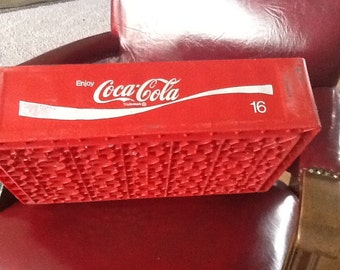 Vintage Red Coca Cola Bottle Carrier