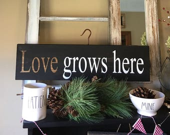 Download Love grows here | Etsy