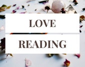 Love Reading -- 1 Card Tarot Reading -- Photo of Spread Included