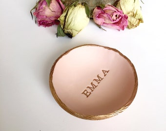 Personalized Ring Dish / Personalized Name Jewelry Dish / Personalized Jewelry Dish / Bridesmaids Gift / Gifts for