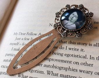 Miles Franklin Bookmark - Australian Literary Gift, Feminist Author Bookmark, Miles Franklin Award Gift, My Brilliant Career Bookmark