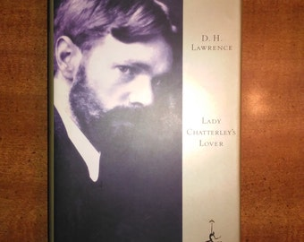 1993 D.H. Lawrence Lady Chatterley's Lover Vintage Book