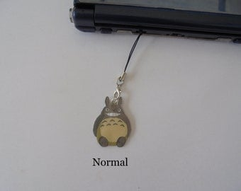 Totoro DS charm - Silver Necklace - Tattoo Necklace - Keychains - Brooch - Movile Strap - Choker - Lanyard - Charm
