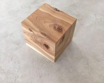 2 1/2 inch  Cedar Wood Block