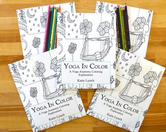 yoga coloring book anatomy coloring book coloring yoga book anatomy book - Yoga Anatomy Coloring Book
