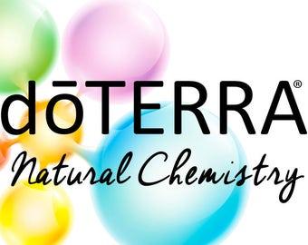 Natural Chemistry doTERRA business cards DIGITAL DOWNLOAD