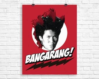 Bangarang! screenprint