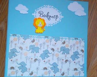 Baby Boy Scrapbook Album