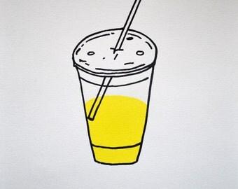 Piss Breakfast Screen Print