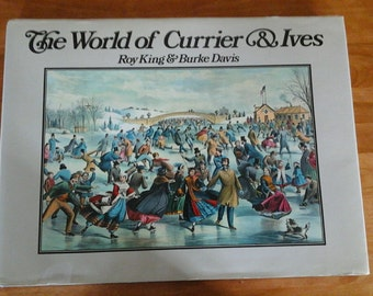 Book Currier & Ives Book Re-edition 1987