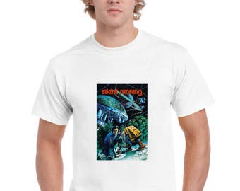 Silent Running 1972 Movie Poster Design T-Shirt by Ameiva Apparel