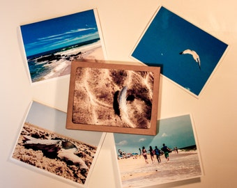 Beach Photograph Note Cards