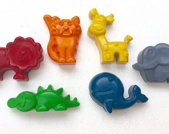 Safari animal crayons