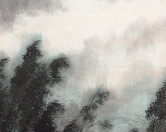 Chinese traditional landscape painting BXS84