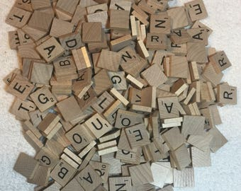 300 real Scrabble Tiles Letters