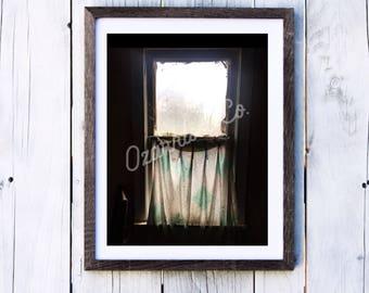 Old Window Print