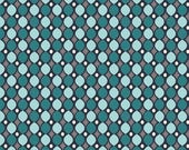 SALE! Quilting Fabric Keep on Groovin', Wallpaper Navy, by Sugar Sisters for Riley Blake Designs, Yardage, Closeout, Clearance