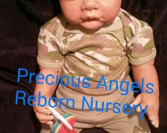 AA\Biracial Reborn Toddler Made From The Grant Kit