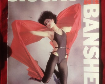 Siouxsie And The Banshees complete story pullout from MM 1983