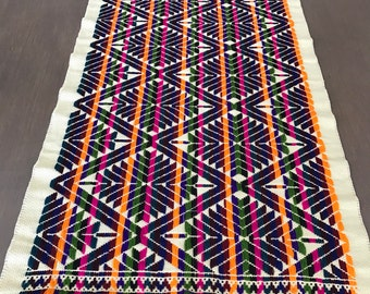 Embroided Chiapas Table Runner 62""