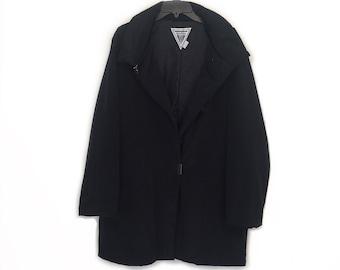 Marvin Richards Jacket - 1980s Vintage - Solid Black - Size L