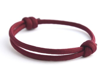 KOMIMAR surfer Bordeaux - Friendship Bracelet - bracelet birthday gift - skipper - sail - Beach jewelry - Yachting - bracelet